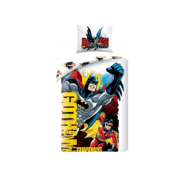 Superman pamut gyerek ágyneműhuzat, 140 x 200 cm - Halantex