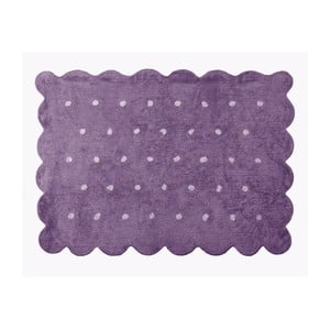 Koberec Cookie 160x120 cm, fialový