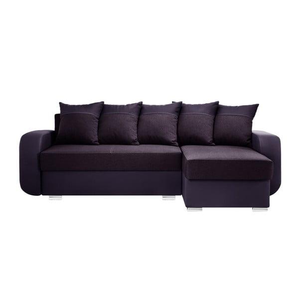 Švestkově fialová sedačka Interieur De Famille Paris Destin, pravý roh