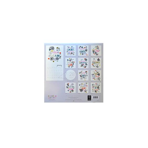 Kalendář Portico Designs Wild Flowers