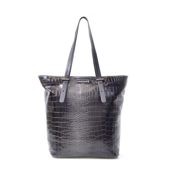 Kožená kabelka Irene, černá