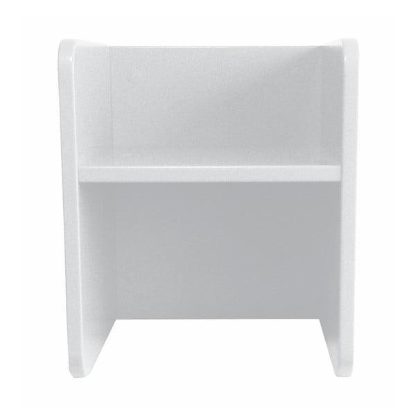 Scaun cu raft pentru copii, 3 în 1 Manis-h, alb