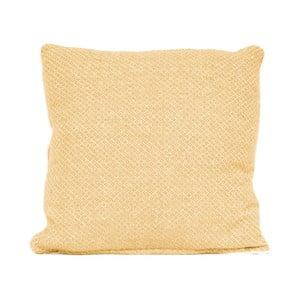 Žlutý polštář s výplní  Present Time Cozy