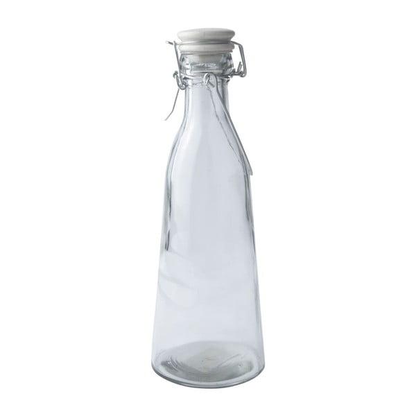 Skleněná lahev s víčkem