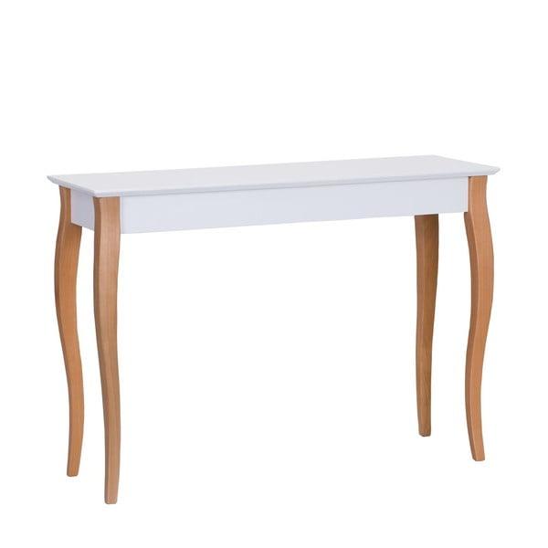 Bílý odkládací stolek Ragaba Console,délka105cm