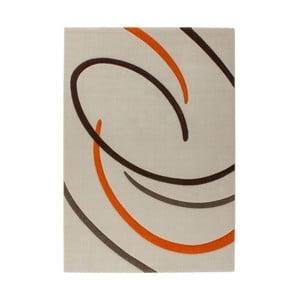 Koberec Melusine 444 Ivory/Orange, 120x170 cm