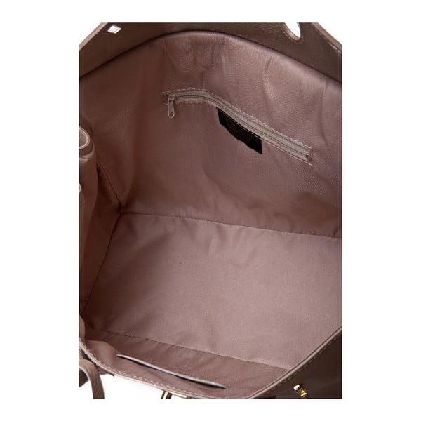 Kožená kabelka Bella Taupe