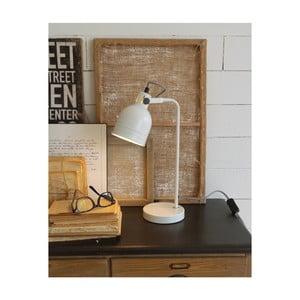 Bílá stolní lampa Orchidea Milano Living White, výška 43 cm