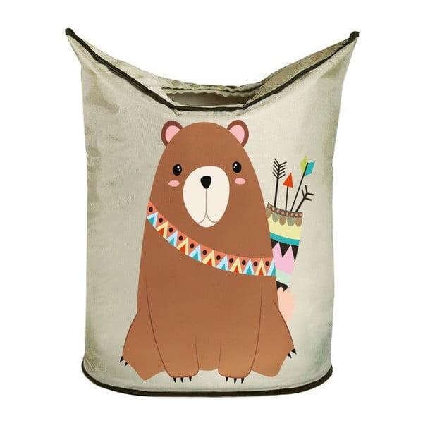 Koš na prádlo Tribal Bear