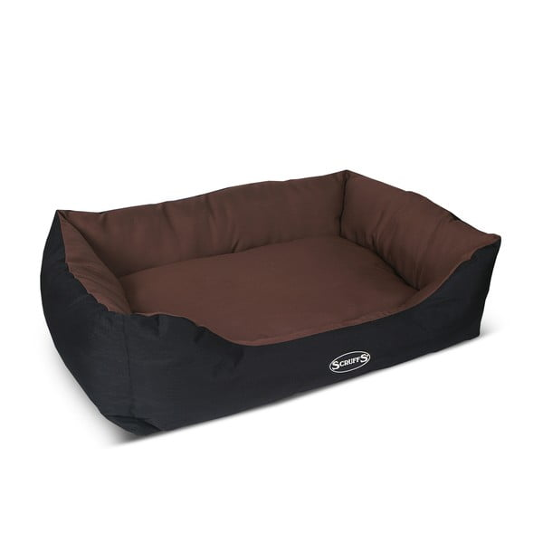Psí pelíšek Expedition Bed 90x70 cm, čokoládový
