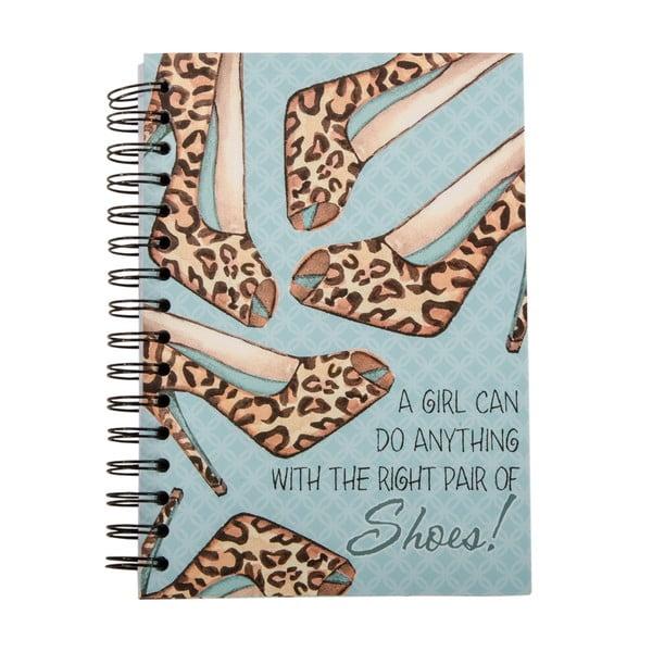 Zápisník Shoes