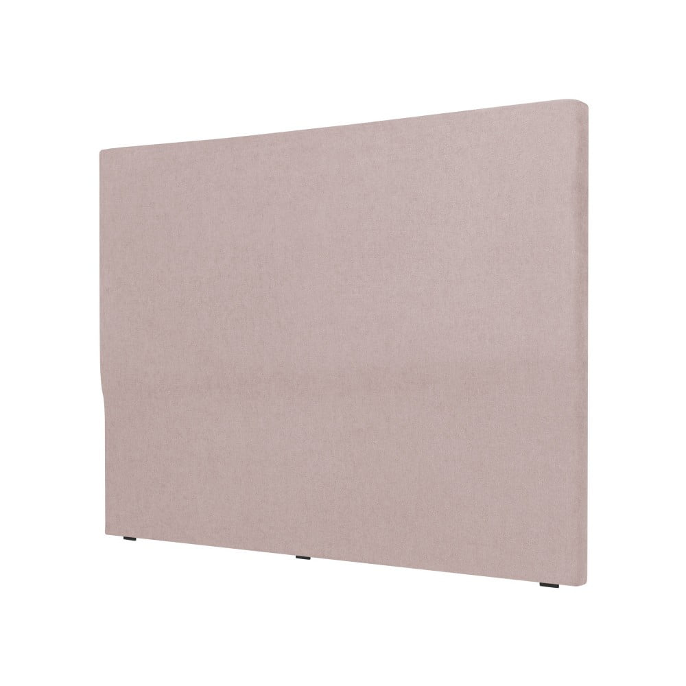 Světle růžové čelo postele Cosmopolitan design Naples, šířka 142 cm
