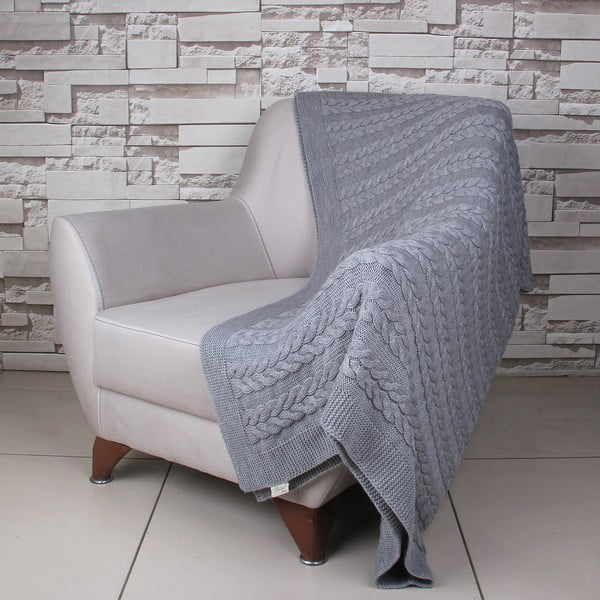Deka Touta Dark Grey, 130x170 cm