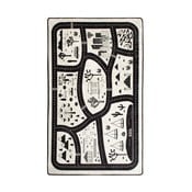 Dětský koberec Black City, 140x190cm