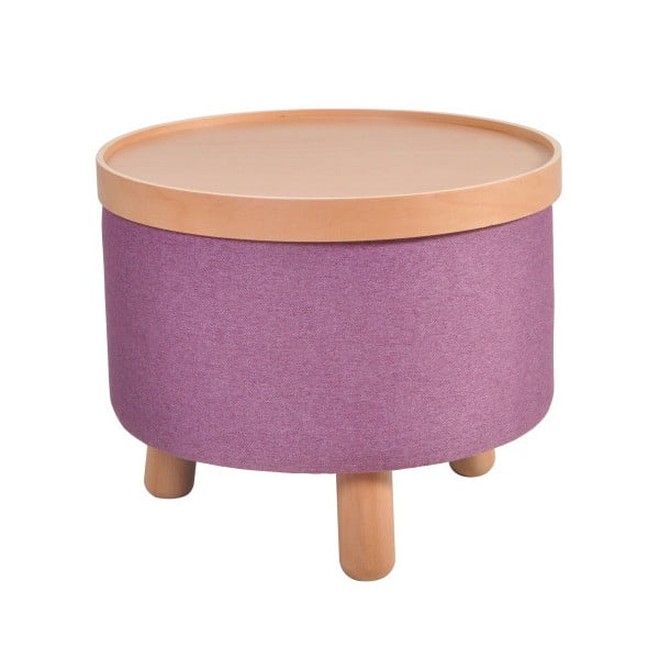 Fialová stolička Molde s odnímatelným vrškem, velikost L