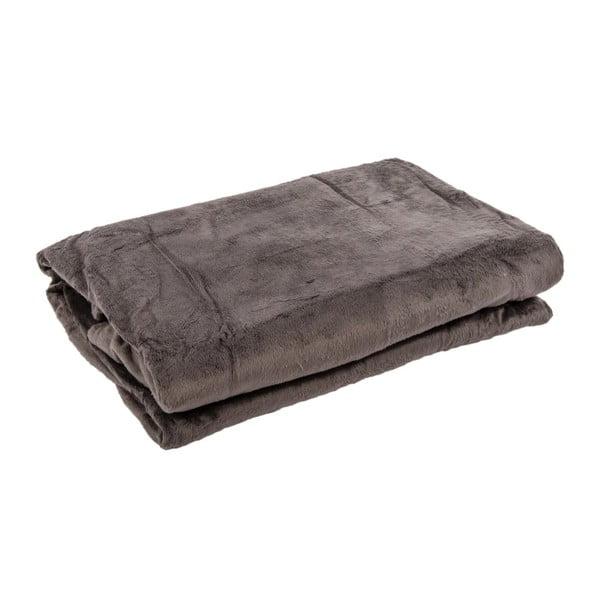 Pléd Supersoft Grey, 130x170 cm