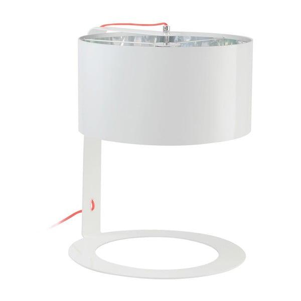 Bílá stolní lampa Light Saint