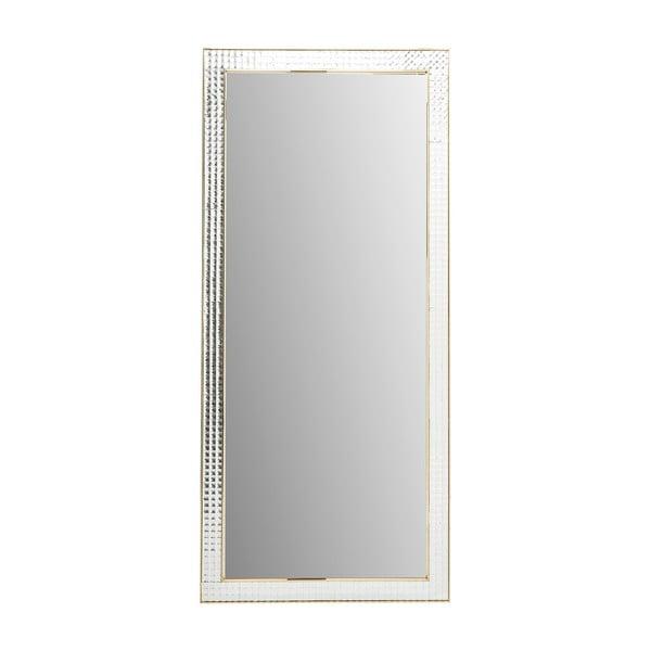 Nástenné zrkadlo Kare Design Crystals Gold, 180 × 80 cm