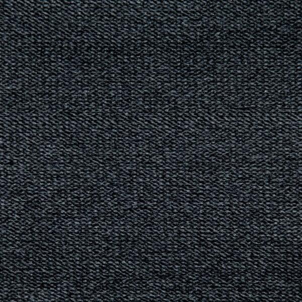 Tmavě šedá postel s přírodními nohami Vivonita Allon,140x200cm