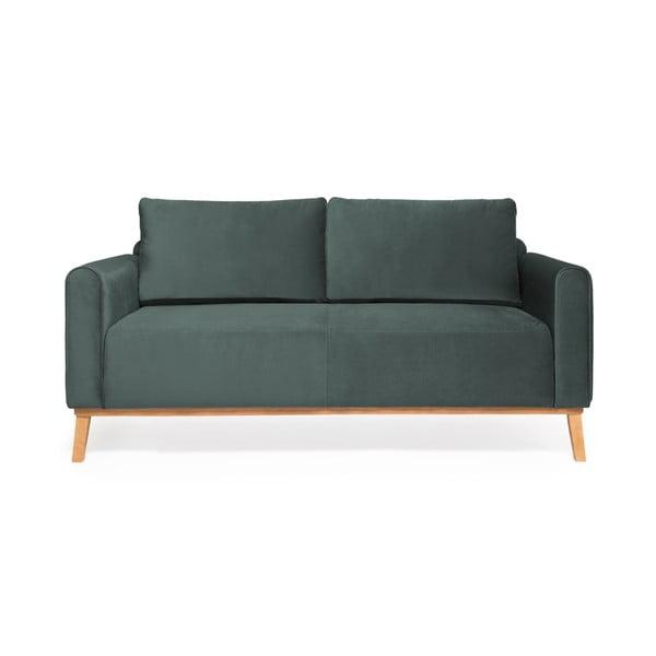 Ocelově modrá sedačka Vivonita Milton Trend, 188 cm
