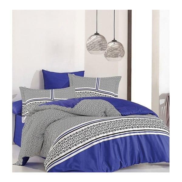Lenjerie de pat cu cearşaf Lagon, 200 x 220 cm