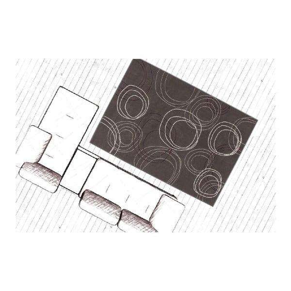 Koberec Arena Grey, 150x80 cm