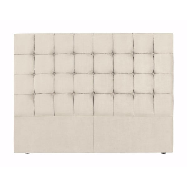Beżowy zagłówek łóżka Kooko Home Hasso, 120x180 cm