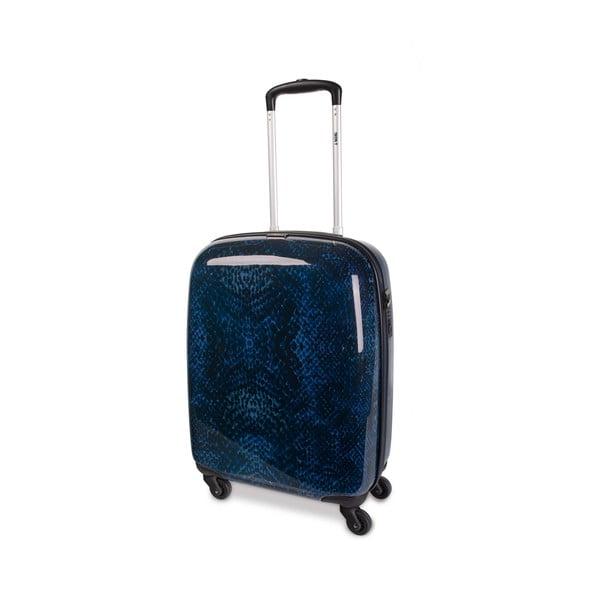 Sada 2 modrých cestovních kufrů SKPA-T