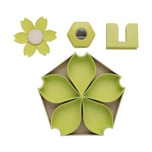 Zelený 4dílný servírovací set XD DesignCollection