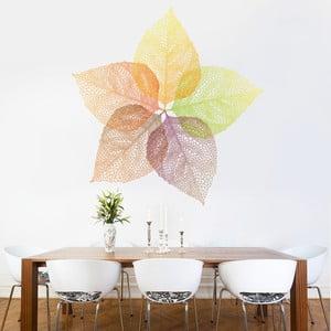 Samolepka na stěnu Podzimní listy, 90x120 cm