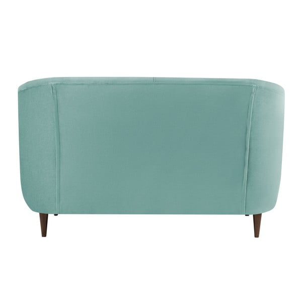 Canapea cu 2 locuri Kooko Home GLAM, turcoaz