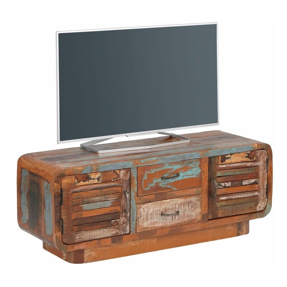 TV stolek z recyklovaného dřeva Støraa Tulika, šířka120cm