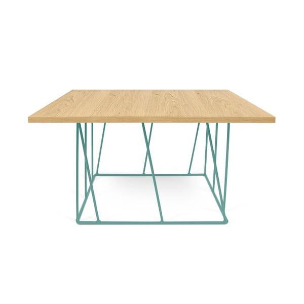 Konferenční stolek se zelenými nohami TemaHome Helix, 75 cm