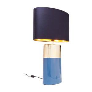 Modrá stolní lampa Kare Design Zelda, výška 78,5 cm