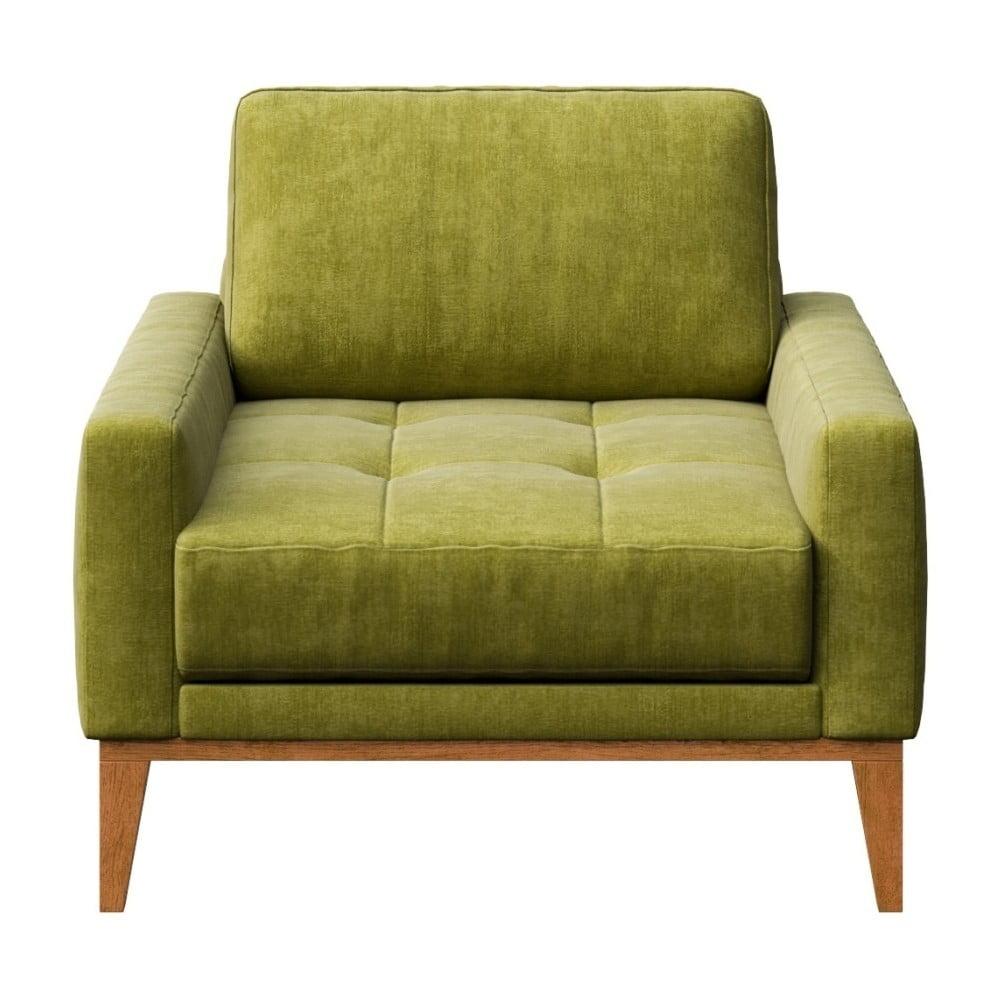 Zelené křeslo MESONICA Musso Tufted