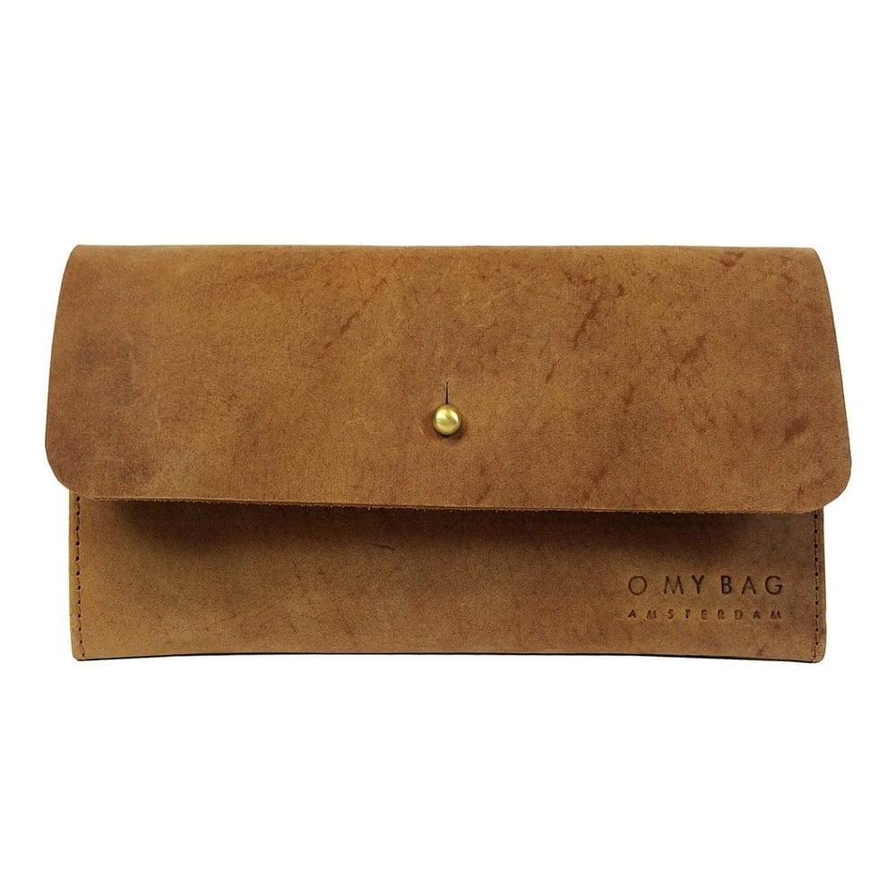 Kožená peněženka Pixies Pouch, velbloudí