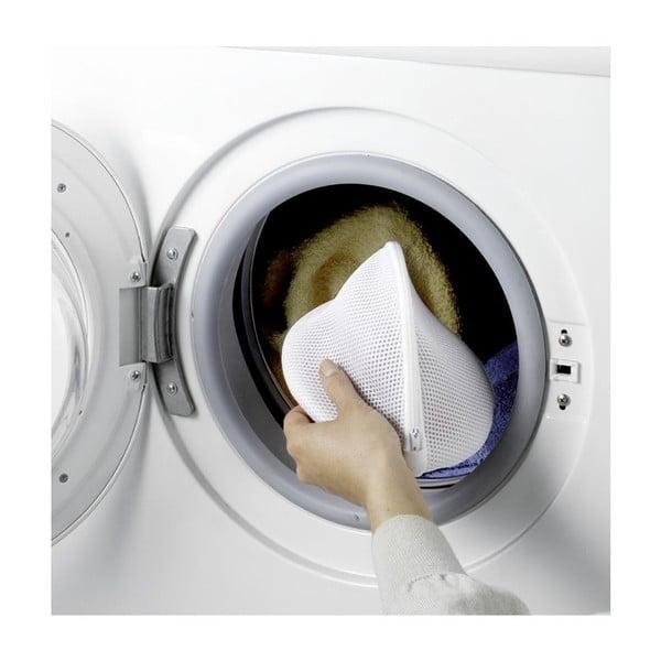 Sada 2 bílých sítěk na praní spodního prádla Wenko