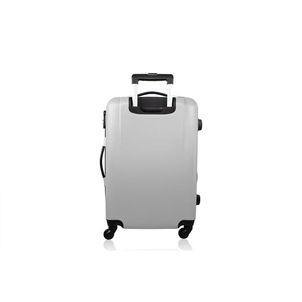 Sada 3 kufrů Brand Developpement Josephee, stříbrná