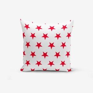 Povlak na polštář s příměsí bavlny Minimalist Cushion Covers Red Star Modern, 45 x 45 cm