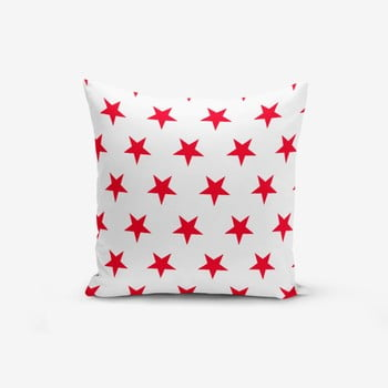 Față de pernă cu amestec din bumbac Minimalist Cushion Covers Red Star Modern, 45 x 45 cm de la Minimalist Cushion Covers