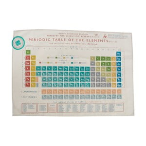 Utěrka Rex London Periodic Table