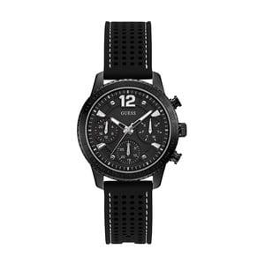 Dámské hodinky s černým silikonovým páskem Guess W1025L3