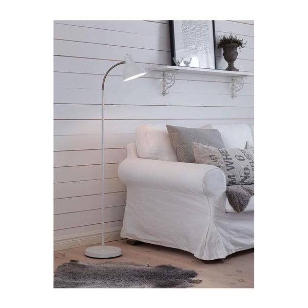Stojací lampa Markslöjd Ronnang, bílá