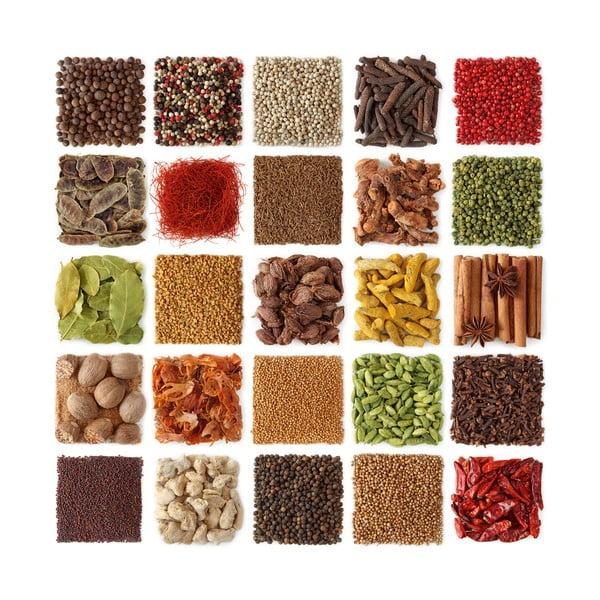 Skleněný obraz Spices Of Paradise, 30x30 cm