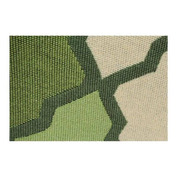 Zelený koberec Duvar Green, 80x150cm