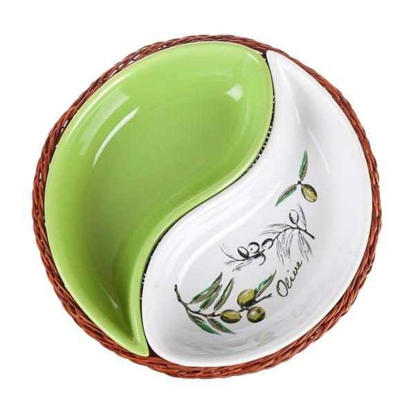 Mísa v košíku Banquet Olives, 20,5 cm