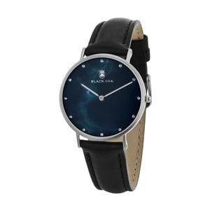 Černé dámské hodinky Black Oak Marble