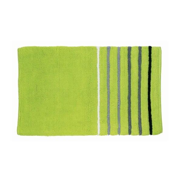 Koupelnová podložka Ladessa, zelená, 50x80 cm