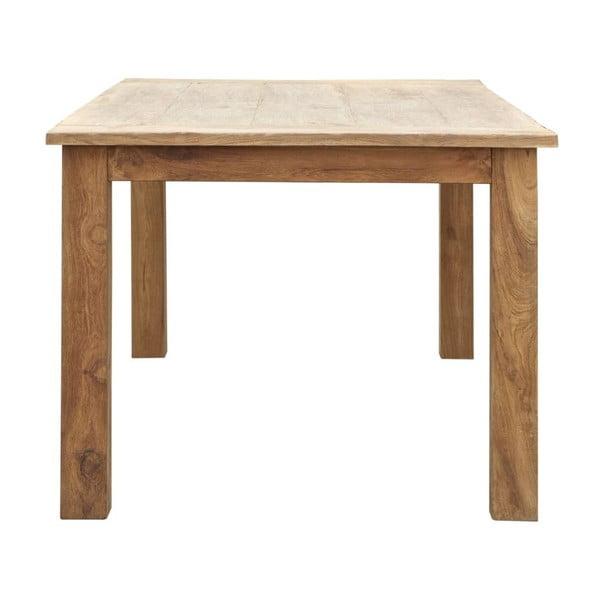 Dřevěný jídelní stůl Attitude Teak,100x200 cm