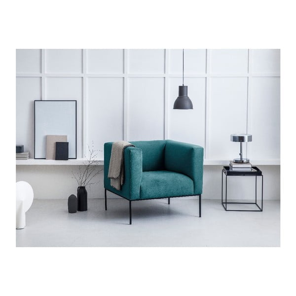 Tyrkysové křeslo Windsor & Co Sofas Neptune